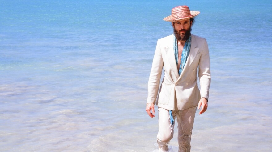 Alexander Ebert is best known for his band Edward Sharpe and the Magnetic Zeros, a folk band with a dozen members. His latest project is the score for <em>All Is Lost</em>, a film about one man lost at sea.