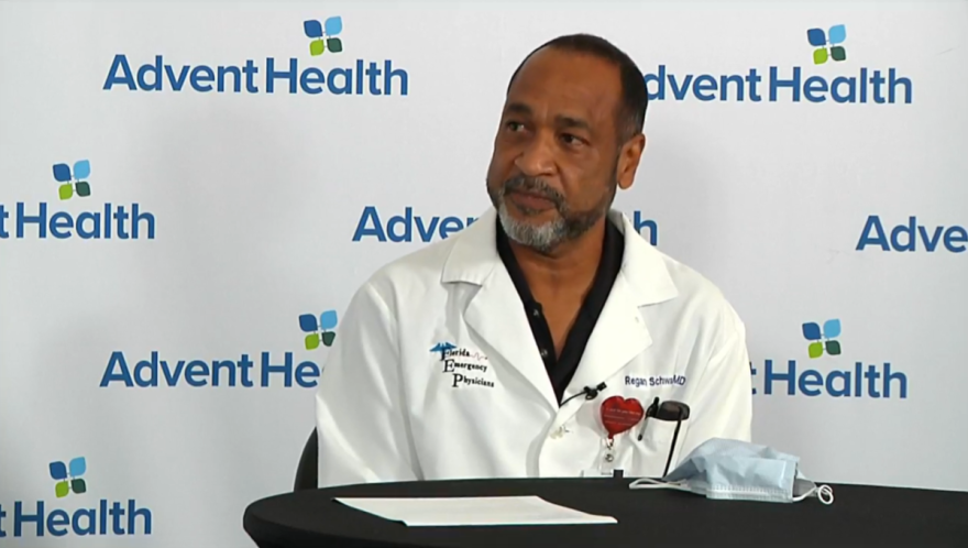 Dr. Regan Schwartz, an ER physician with AdventHealth Orlando, says the benefits of the vaccine far outweigh its minor side effects.