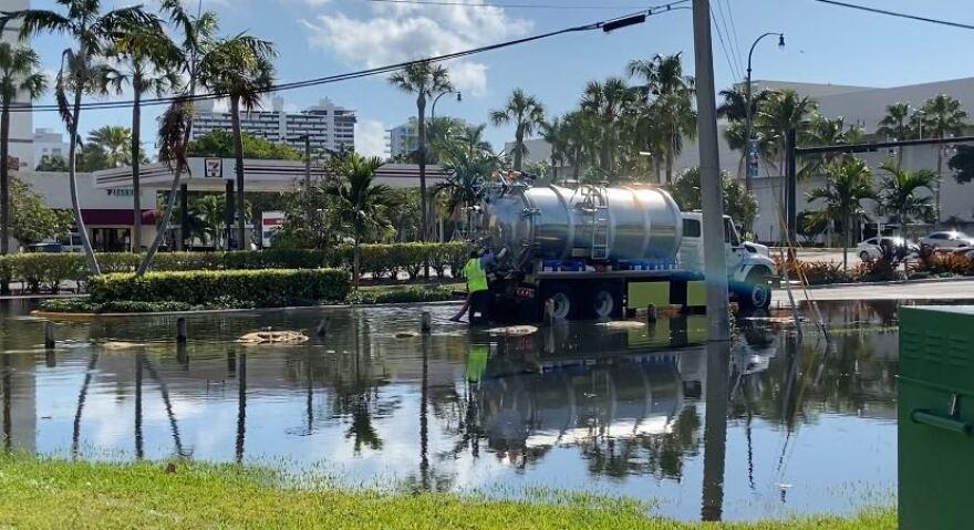 Fort Lauderdale sewage