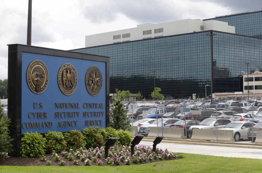 The National Security Agency and U.S. Cyber Command both have headquarters at the same campus in Fort Meade, Md. The NSA, which was established in 1952, monitors foreign communications, while Cyber Command, created a decade a ago, is designed to take action against rivals in the cyber realm.