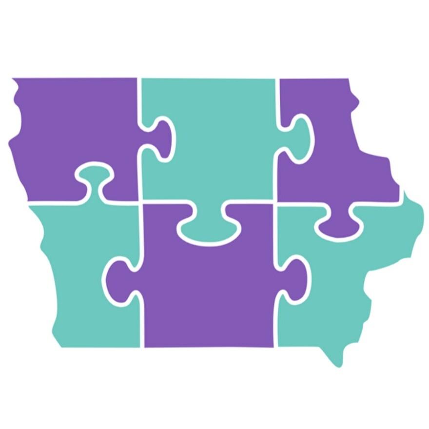 Iowa Regional Autism Assistance Program's logo