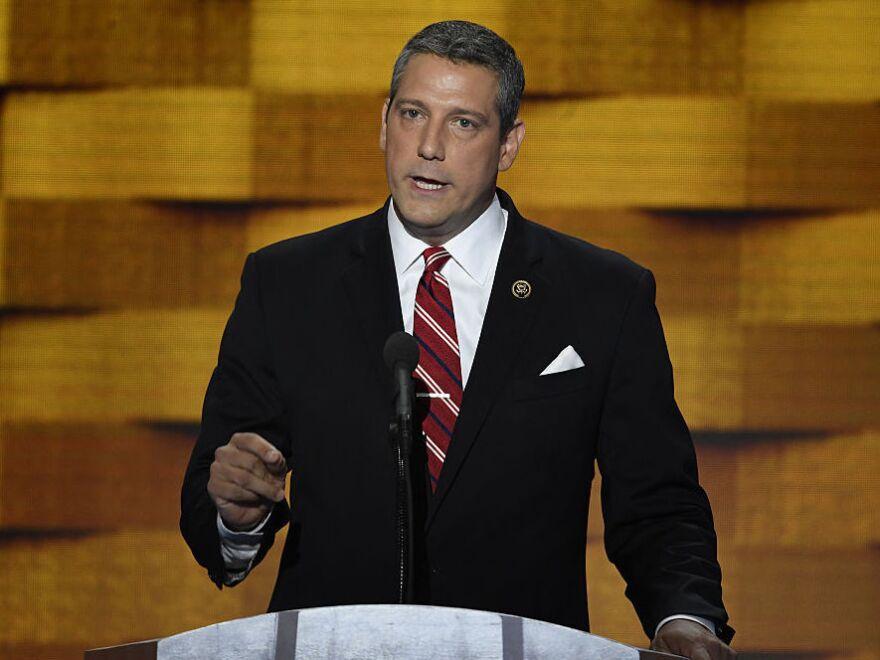 Rep. Tim Ryan, D-Ohio, fell short in his effort to topple Nancy Pelosi as the Democratic House minority leader.