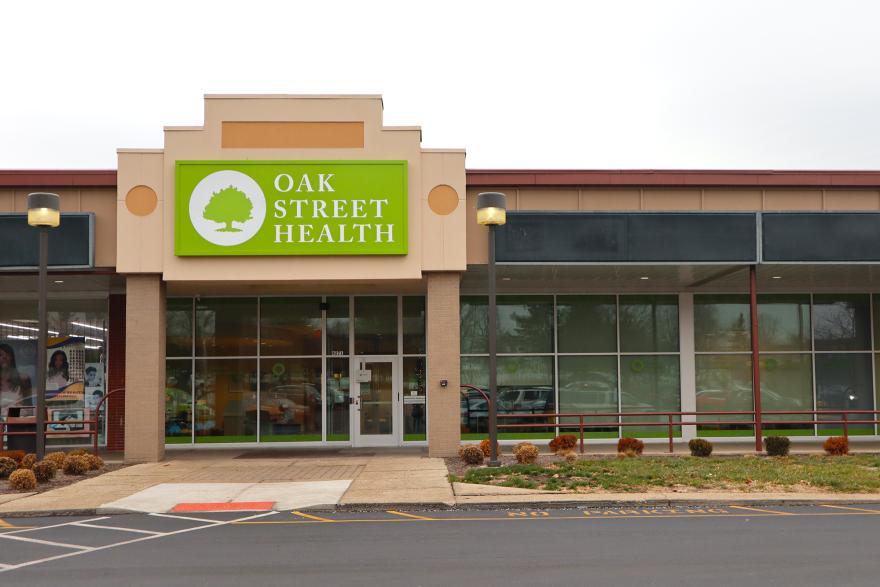 A new Oak Street Health clinic location in Dayton.