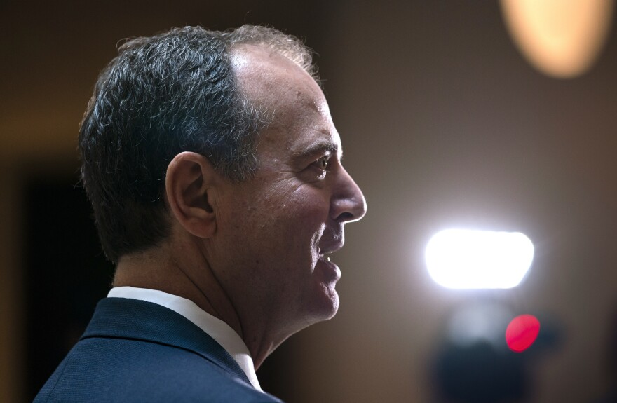 House Intelligence Committee Chairman Adam Schiff, D-Calif., is leading the impeachment inquiry.