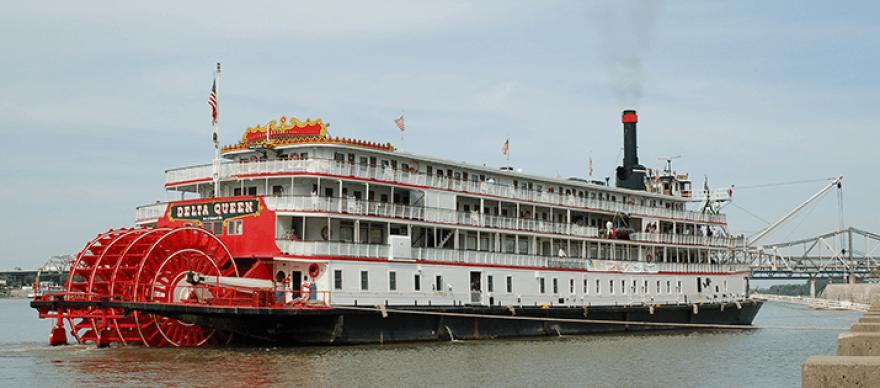The Delta Queen Steamboat