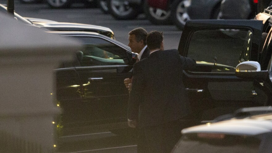 """House Speaker John Boehner arrives at the White House on Thursday for a meeting with President Obama. The two men met again in private on Monday in an effort to reach a deal to avoid the """"fiscal cliff."""""""