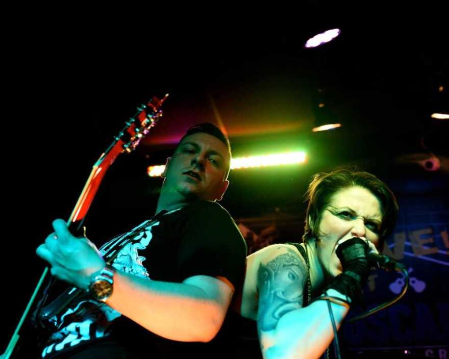 Bradley Bowermaster and Jill Dodson of Stella's Demise