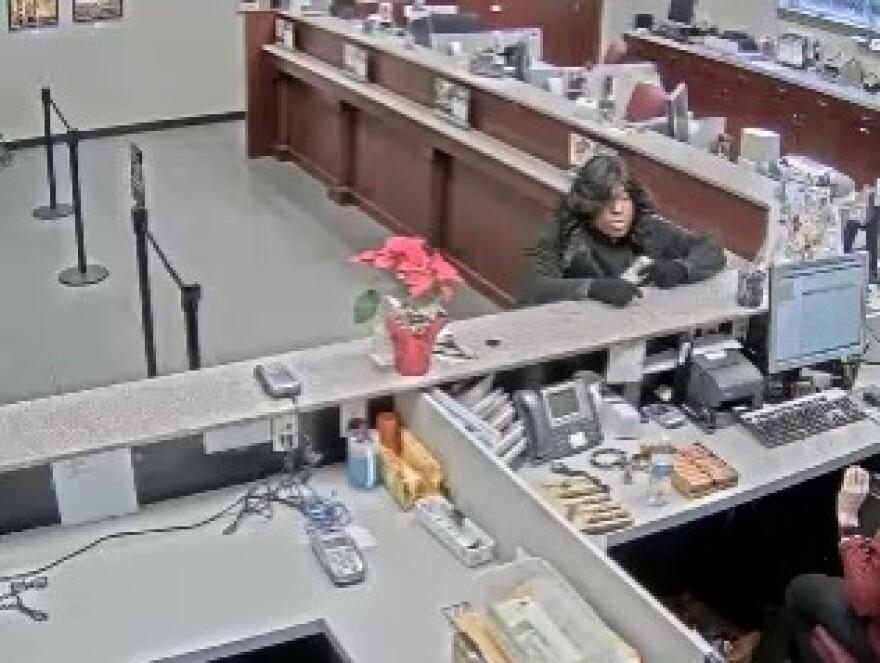 Bad Wig Bandit bank robber