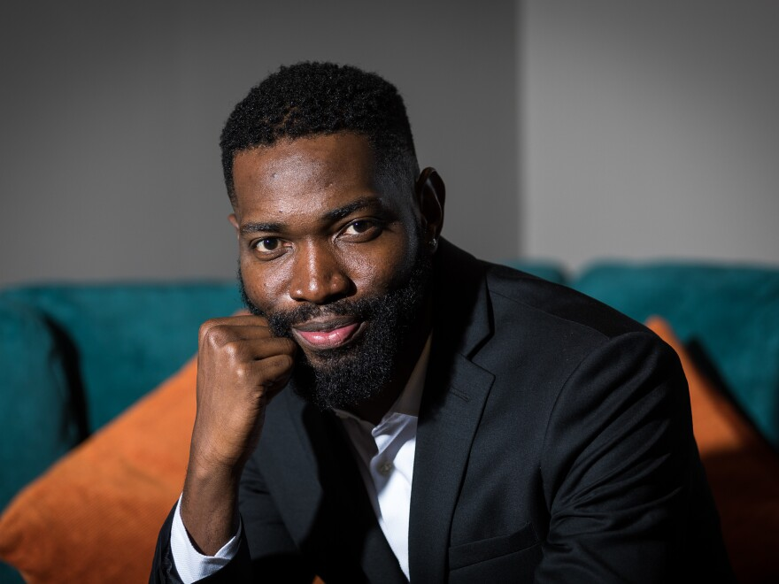 Playwright Tarell Alvin McCraney, who was awarded a MacArthur Fellowship in 2013, is making his Broadway debut with <em>Choir Boy.</em>