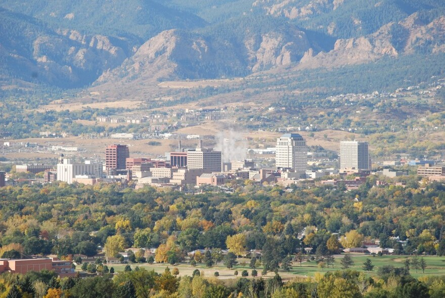 Colorado Public Radio is taking over control of KRCC, an NPR member station based in Colorado Springs. It will oversee the newsroom, programming and most of the station's finances. This allows CPR to expand into southern Colorado and northern New Mexico.