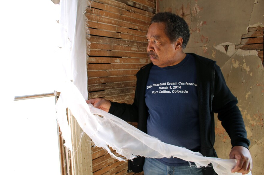 George Junne, professor of Africana Studies at the University of Northern Colorado, has spent years digging into the town's history.