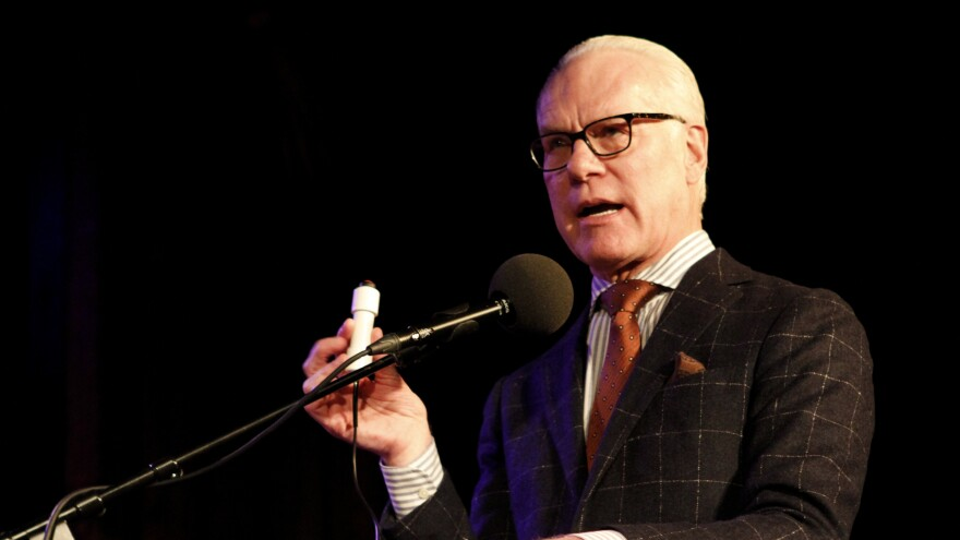Tim Gunn on Ask Me Another.