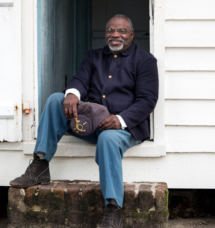 Joseph McGill of Charleston, S.C., runs the Slave Dwelling Project.
