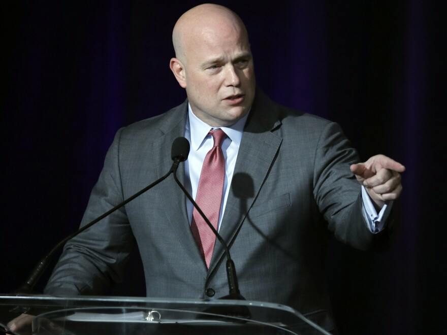 Acting Attorney General Matthew G. Whitaker has decided not to recuse himself from the special counsel investigation, the Justice Department told Congress this week.