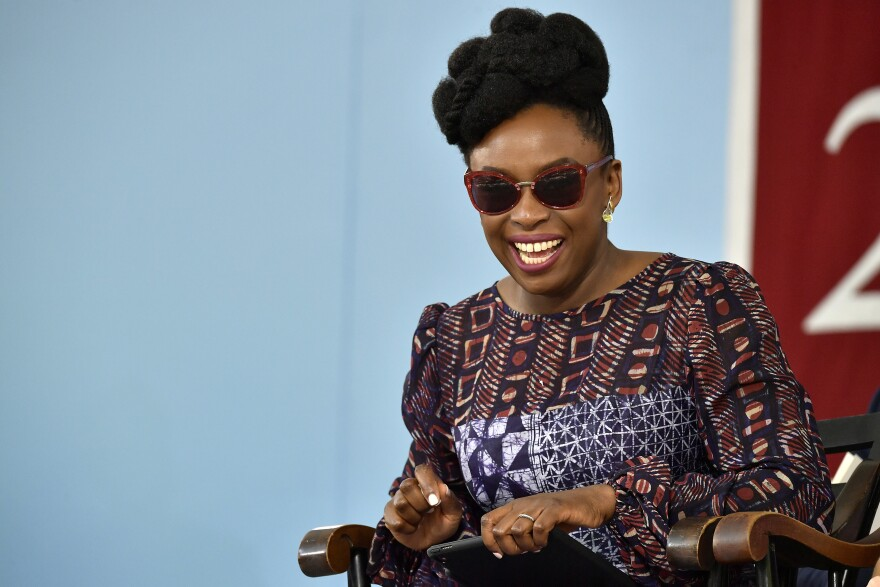 Author Chimamanda Ngozi Adichie spoke to the Class of 2018 at Harvard. If you have trouble pronouncing her name, she told the graduates, she is forgiving — as long as it was an honest mistake and not out of malice.