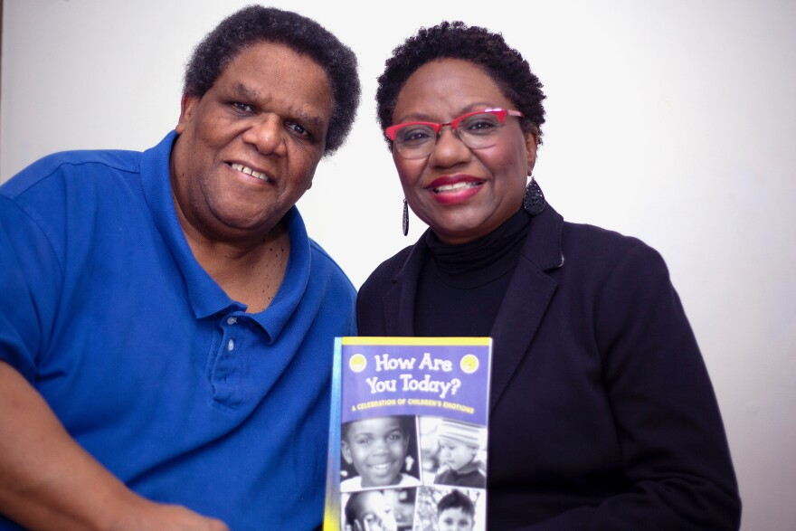 "Odell (left) and Linda Mitchell (right) are the husband-and-wife team who published ""How Are You Today? A Celebration of Children's Emotions."""