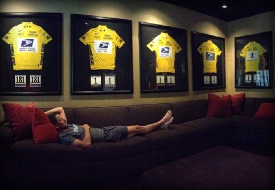 Lance Armstrong Just Layin' Around.jpg