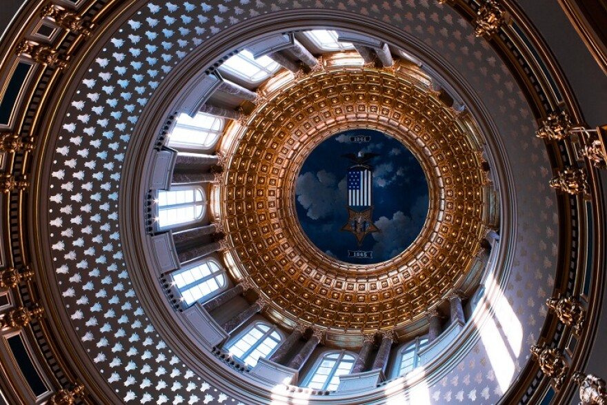 State Capitol Ceiling