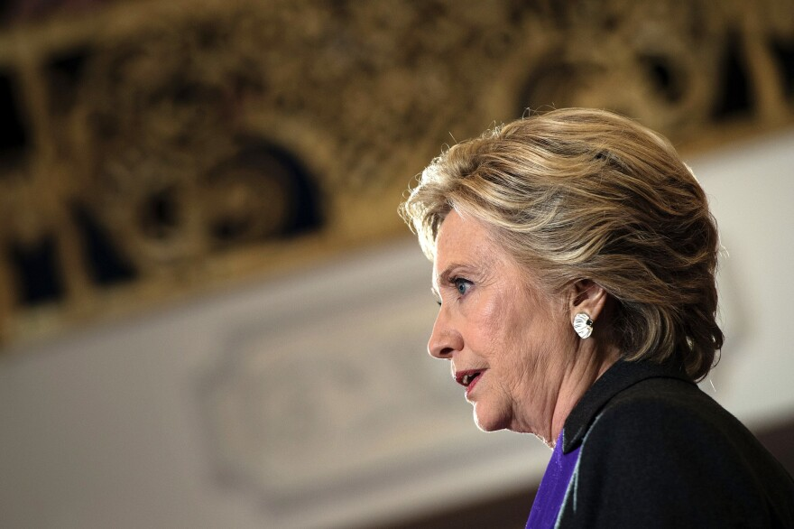 Democratic presidential candidate Hillary Clinton finds herself on the wrong end of an electoral split, moving ahead in the popular vote but losing to President-elect Donald Trump in the Electoral College.