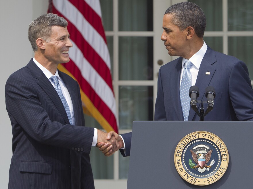 Alan Krueger on the day he was nominated by President Obama as Chairman of the White House Council of Economic Advisers.