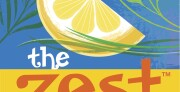 The Zest Podcast logo