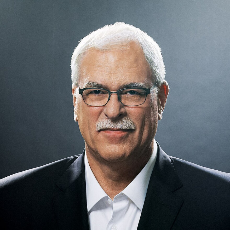 Phil Jackson was the head coach of the Chicago Bulls from 1989 to 1998, and of the L.A. Lakers for more than 10 years.
