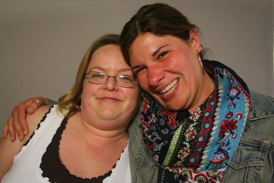 Anne Branning and Rani Deighe Crowe