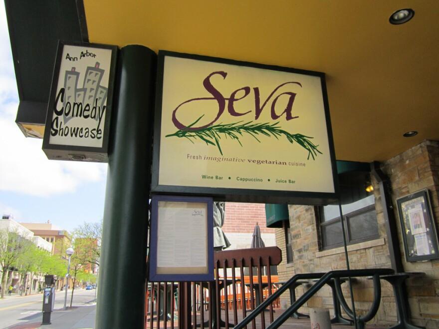 "In <em>Very Bad Men</em>, Seva is Sen. John Casterbridge's favorite restaurant. Dolan won't say if he's a good guy or not, because ""that would be giving it away."""