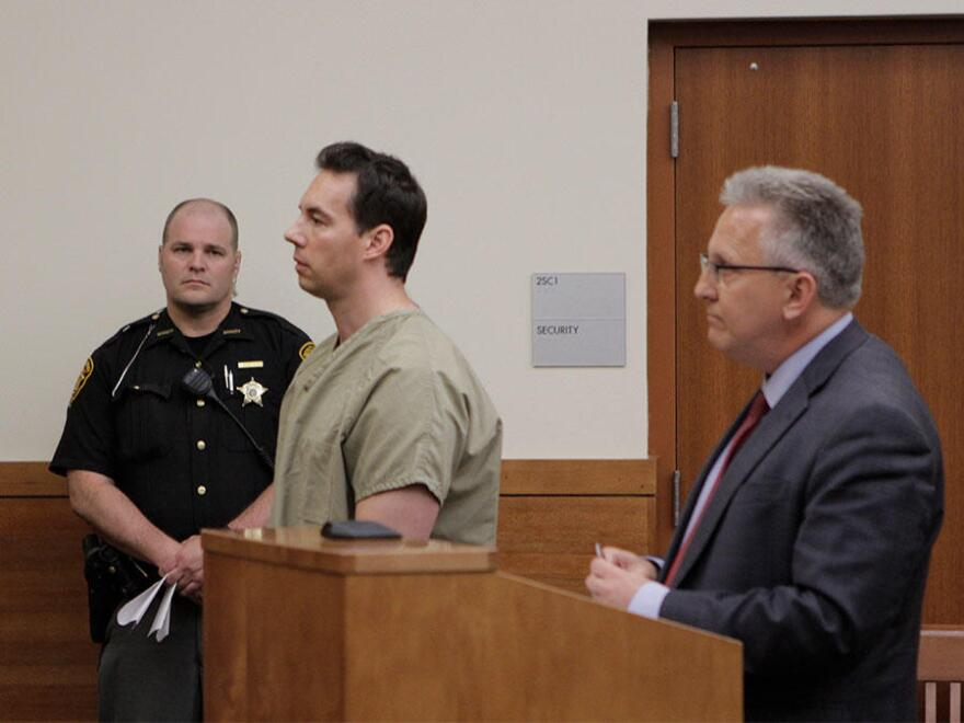 Former Mount Carmel Dr. William Husel pleaded not guilty Wednesday afternoon. His bond was set at $1 million.