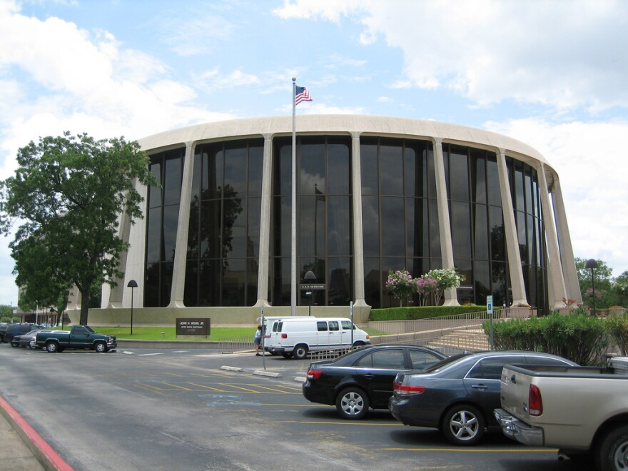 The federal courthouse in San Antonio.