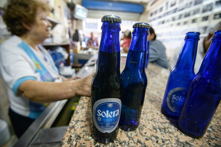 A barley shortage caused Venezuela's biggest beer producer, Polar, to stop production.
