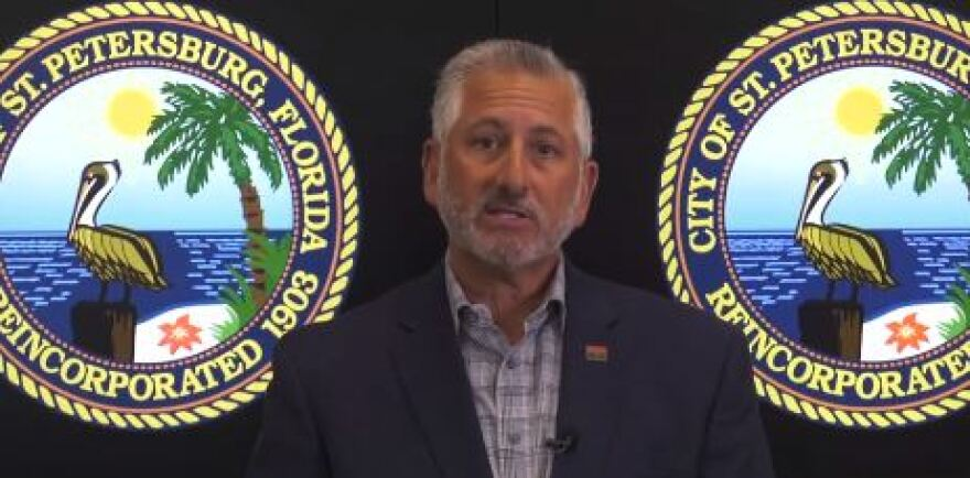 St. Petersburg Mayor Rick Kriseman said Florida would be better equipped to stop the spread of the coronavirus if the directive applied to all of the state's 67 counties.