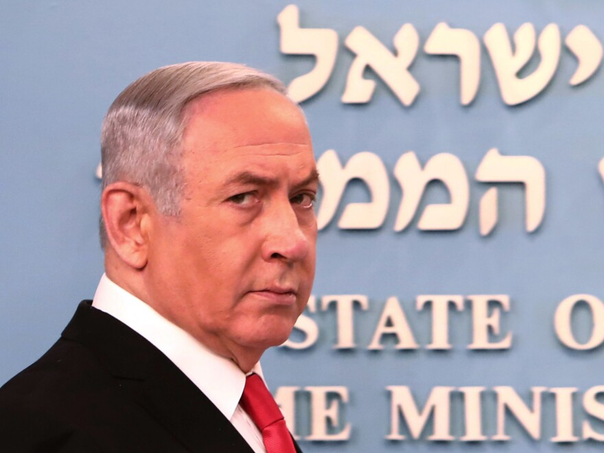Israel's Supreme Court convened Sunday to decide whether Prime Minster Benjamin Netanyahu should be barred from leading a unity government as he faces corruption charges.