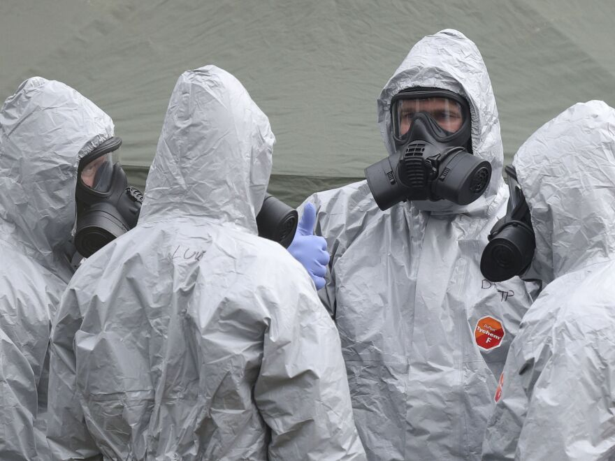 Britain's Metropolitan Police said Sergei Skripal, a former Russian spy, and his daughter were likely poisoned with a rare nerve agent at his home.