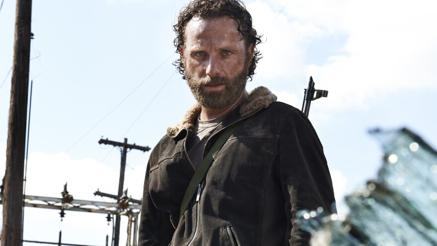 Andrew Lincoln plays Rick Grimes in <em>The Walking Dead</em>.