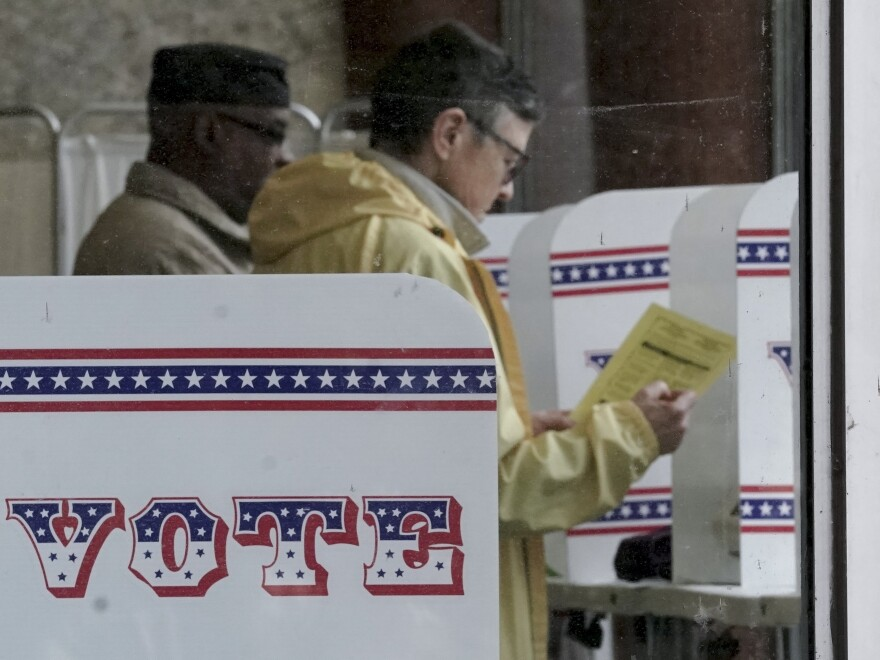 Early voters cast their ballots at last month in Milwaukee.