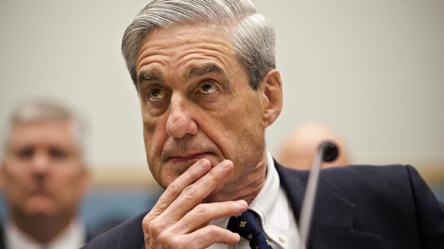 FBI Director Robert Mueller testifies on Capitol Hill in June.