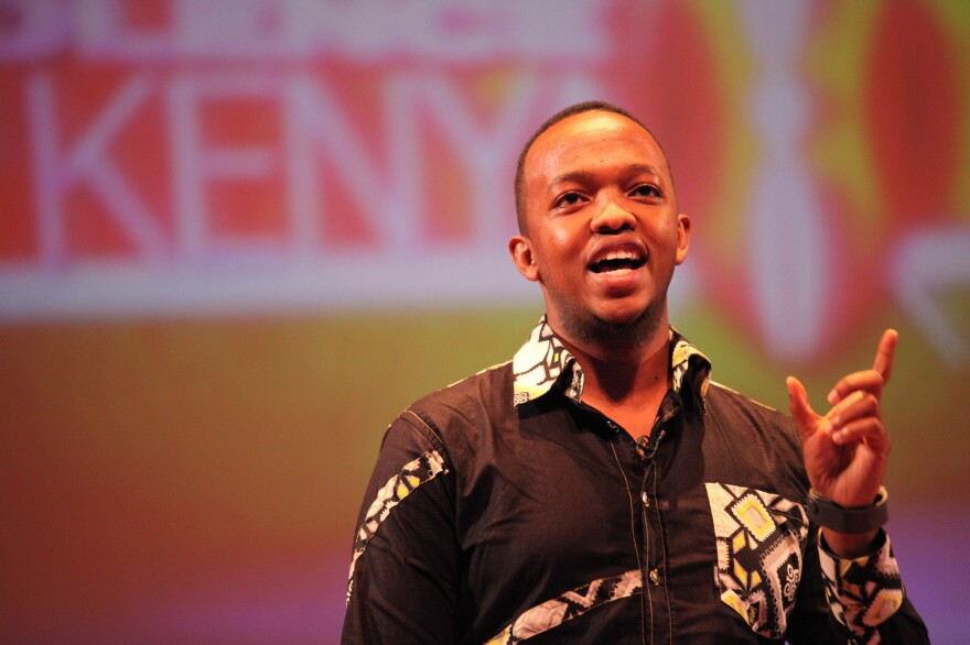 """Mark Kaigwa is a digital strategist in Kenya. He calls #KOT """"the unofficial back channel for conversations, questions and commentary.""""<em></em>"""