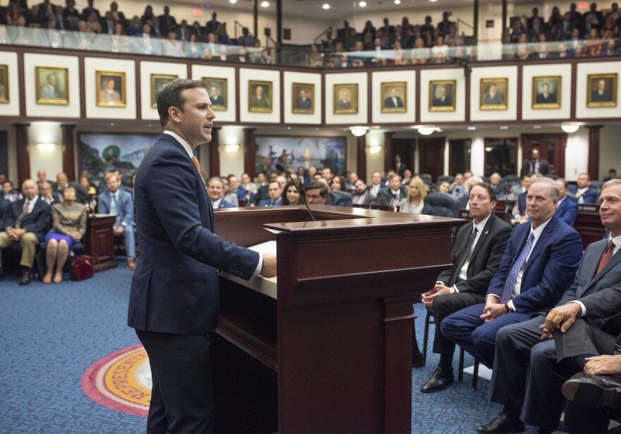 House Rules Chairman Chris Sprowls, R-Palm Harbor, was formally chosen Tuesday by his Republican colleagues to become the next House speaker. FLORIDA HOUSE OF REPRESENTATIVES