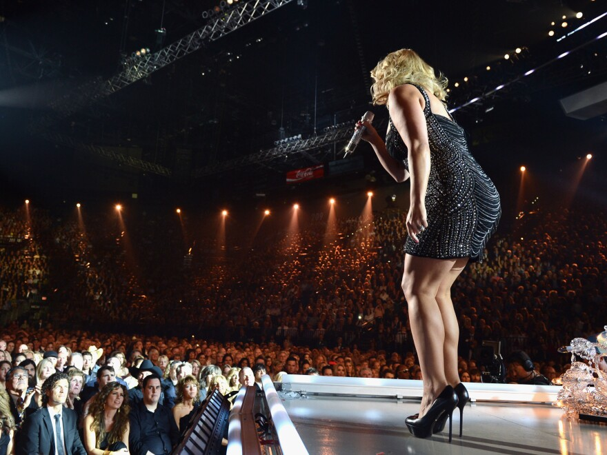 Miranda Lambert performing in April at the Academy of Country Music Awards, where she won best song, best record and best female vocalist for the fourth year in a row. The Lambert Effect has opened doors for many of the new hopefuls blending hard country sounds with feminist-aware attitudes.