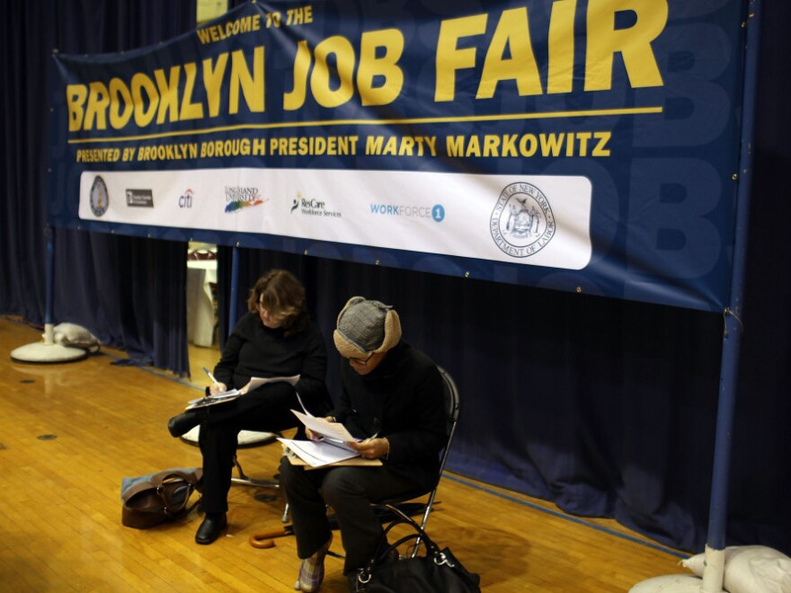 In April, the Brooklyn Job Fair drew thousands of participants, including nearly 80 employers. That same month saw unemployment jump to 9 percent from 8.8 percent in March.