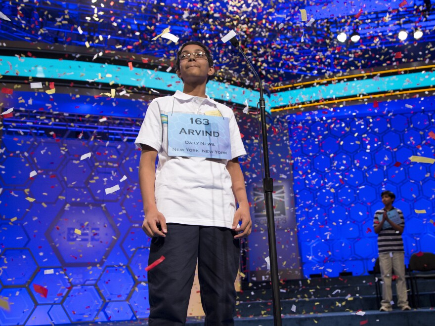 """Arvind Mahankali won the 2013 National Spelling Bee after spelling the word """"knaidel."""""""