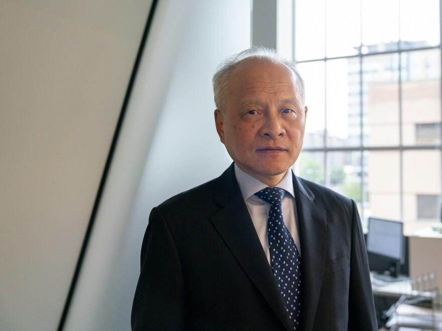 Cui Tiankai, China's Ambassador to the U.S., at NPR in Washington, D.C.