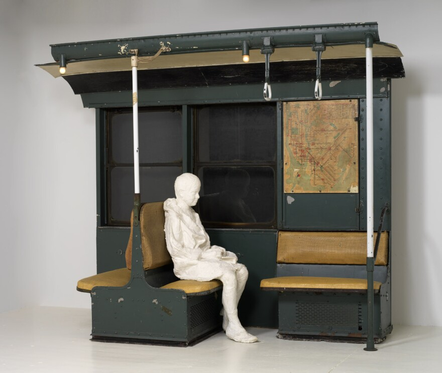 George Segal's <em>Subway</em> was thoughtfully acquired by the Margulies Collection, which aims to build its collection around significant works of art.