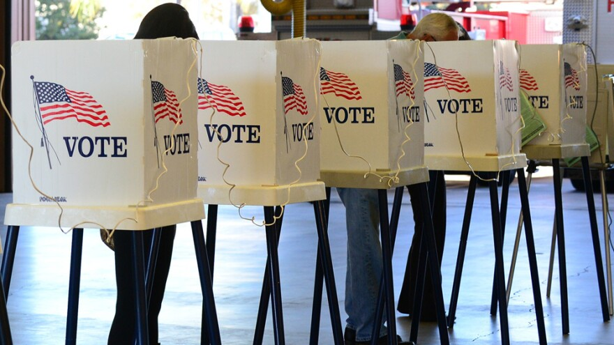 Citizens vote in Los Angeles County on Nov. 6.