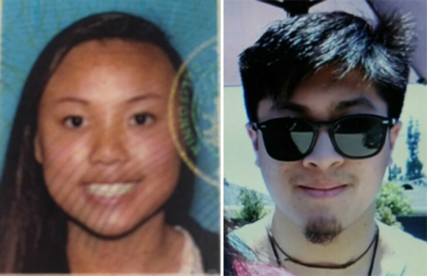Rescuers are searching for Rachel Nguyen and Joseph Orbeso, reported missing on Friday, in Joshua Tree National Park.