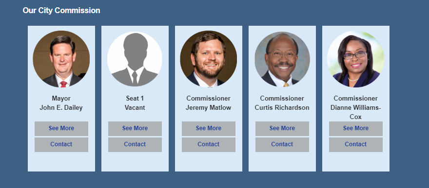 Remaining members of the Tallahassee city commission will choose the person to replace Scott Maddox.