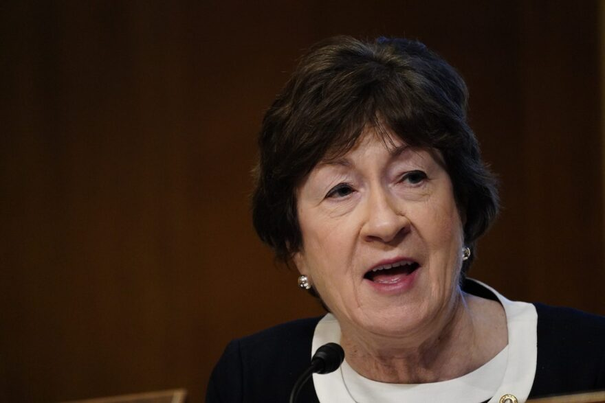 Susan Collins (R-Maine) is one of the key figures involved in a Republican COVID-19 relief proposal. President Biden is set to meet with the Republican lawmakers this week.