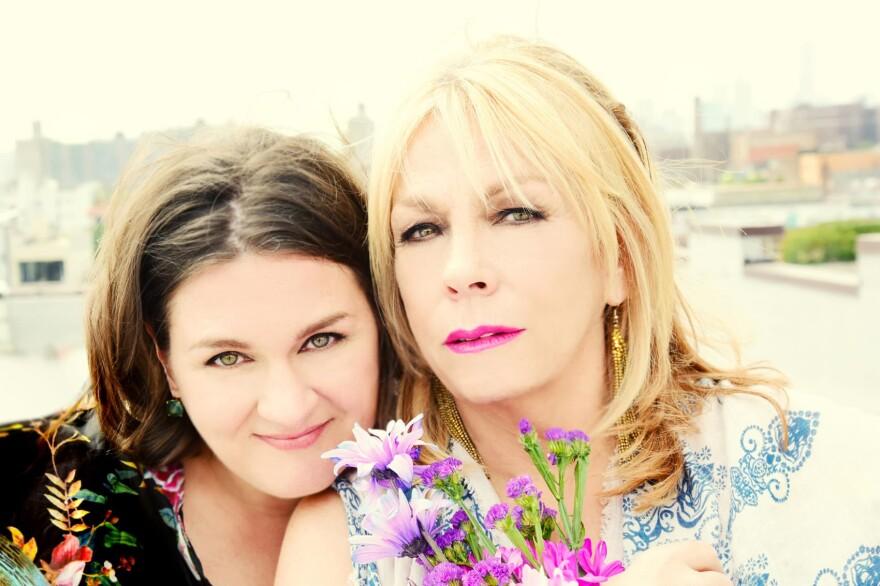 Singers Madeleine Peyroux (left) and Rickie Lee Jones. (Courtesy Shervin Lainez)
