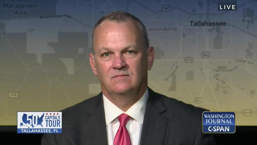 """House Speaker Richard Corcoran appeared on C-SPAN's """"Washington Journal"""" program Wednesday (12/6/17) to discuss sexual harassment in the Florida Capitol and hurricane recovery."""